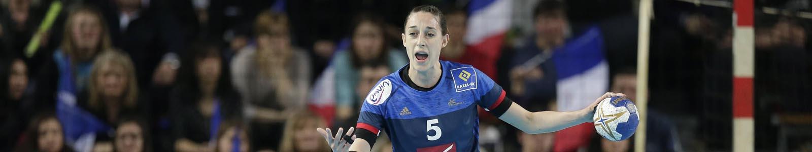 Camille Ayglon handball