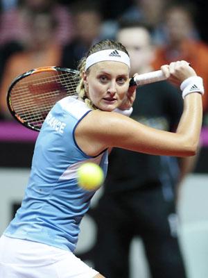 Kristina Mladenovic tennis francais