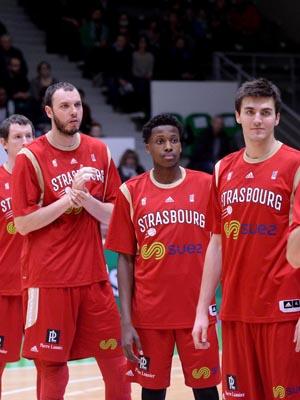 basket  equipe strasbourg