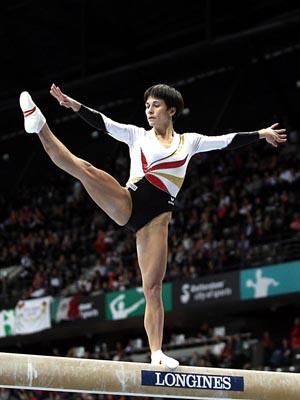 poutre gymnastique