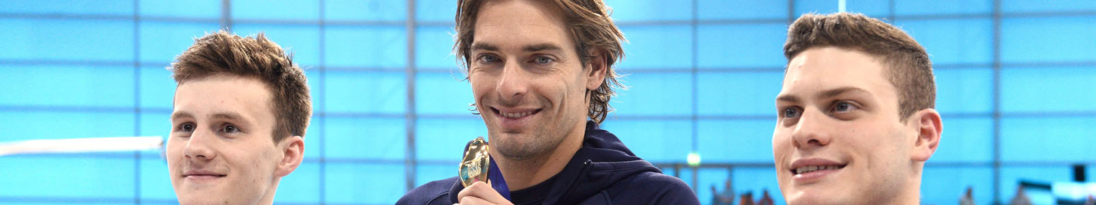 CAMILLE LACOURT MEDAILLE OR 50 M DOS