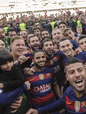 FC Barcelone vainqueur