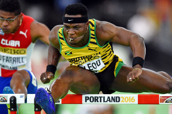 Omar McLeod athletisme