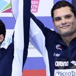 podium relais 4x100m 4 nages