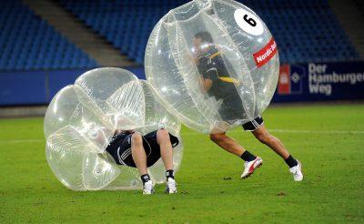 BULL FOOTBALL - 2012 Bubble-Fussball Fussball Hamburger SV, 125 Jahre HSV, Gala