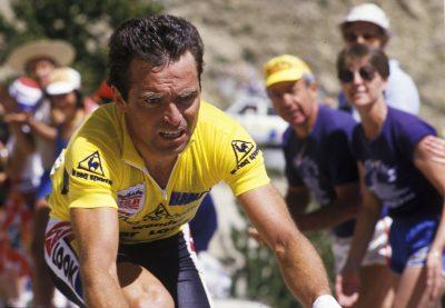 CYCLISME - TOUR DE FRANCE 1986 - 1986 hinault (bernard) -fra- *** Local Caption ***   Hinault en difficulté dans le col de l'izoard VELO (12/2014)