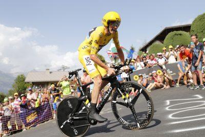 CYCLISME - TOUR DE FRANCE 2016 - 2016 21 July 2016 103rd Tour de France Stage 18 : Sallanches - Megeve ITT 1st : FROOME Christopher (GBR) Sky, Maillot Jaune Photo : Yuzuru SUNADA