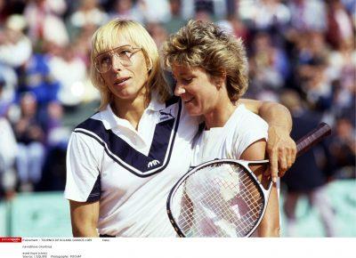 TENNIS - TOURNOI DE ROLAND GARROS 1985 - navratilova (martina) - evert lloyd (chris)
