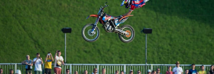 MOTO - 2014 Luc Ackermann Munich Mash, Red Bull X-Fighters, Freestyle-Motocross, Finale *** Local Caption ***   © Witters Es gelten die AGB der Witters GmbH (siehe www.witters.de)