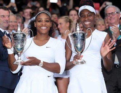 TENNIS - TOURNOI DE WIMBLEDON - GRAND CHELEM - 2016 Siegerinnen Serena und Venus Williams (USA) London, 09.07.2016, Tennis, Wimbledon 2016, Damen Doppel, Finale