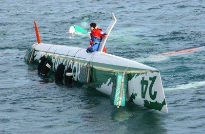 VOILE - 2002 cammas (franck) Naufrage du bateau de CAMMAS Franck L'(28/10/2006)