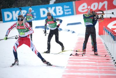 BIATHLON - CHPTS DU MONDE - 2016 fillon maillet (quentin) - (fra) -  *** Local Caption ***