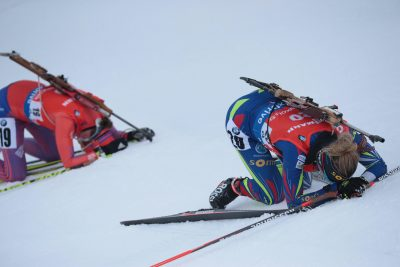 BIATHLON - CHPTS DU MONDE - 2016 dorin habert (marie) - (fra) -   *** Local Caption ***   L'(06/03/2016)
