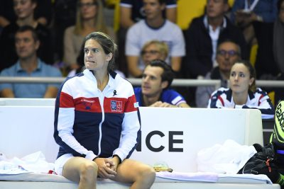 TENNIS - FRANCE-REPUBLIQUE TCHEQUE - 2016 - FED CUP mauresmo (amelie) *** Local Caption ***