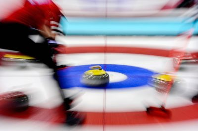 OMNISPORTS - JEUX OLYMPIQUES D'HIVER - 2014 - CURLING Feature Olympische Winterspiele 2014 in Sotschi, Curling, Herren *** Local Caption ***