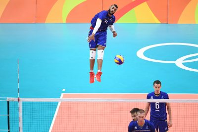 VOLLEY - JO 2016 - 2016 ngapeth (earvin)  *** Local Caption ***