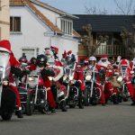 Le Père Noël se met à la moto !