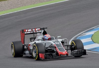 AUTOMOBILE - GP D'ALLEMAGNE - 2016 Romain Grosjean (Haas) Hockenheim, 31.07.2016, Formel 1, Grosser Preis von Deutschland 2016, Hockenheimring