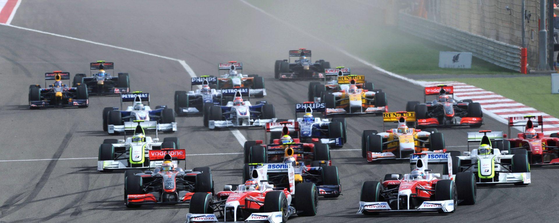 Saison 2017 formule 1 10 curies sur la ligne de d part - Grille de depart formule 1 ...