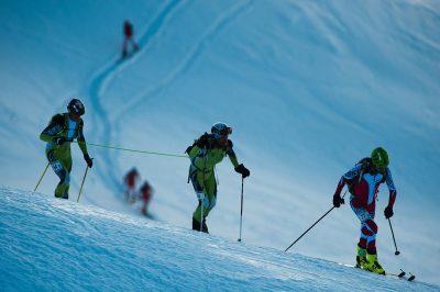 SKI ALPINISME - PIERRA MENTA - 2012 montee vers le mirantin