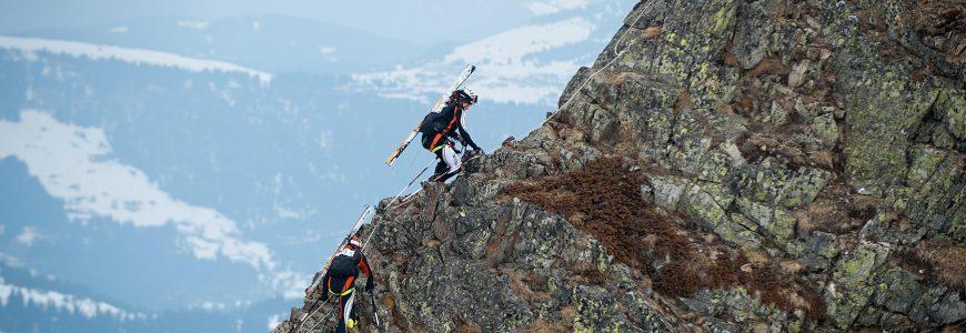 SKI ALPINISME - PIERRA MENTA - 2012 ascension du Grand Mont MAG (1600) du 16/03/2013
