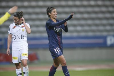 FOOT - LIGUE DES CHAMPIONS FEMMES - 2016 cristiane quatrieme but du psg