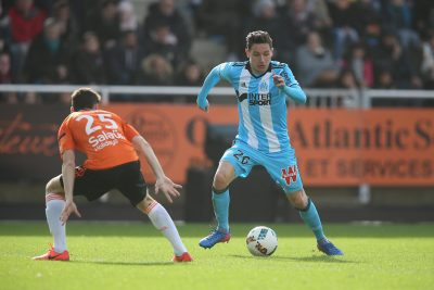 FOOT - L1 - 2017 le goff (vincent) thauvin (florian) *** Local Caption ***