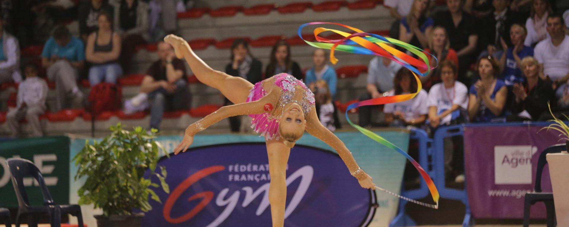 Gymnastique rythmique Ksenya Moustafaeva