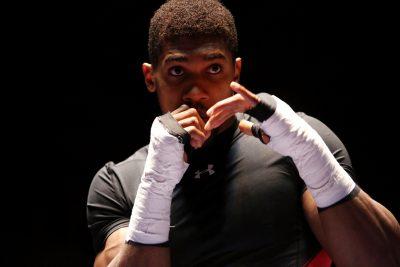 BOXE - WBC - 2016  Anthony Joshua Ghost boxes Photo: Kieran Clarke