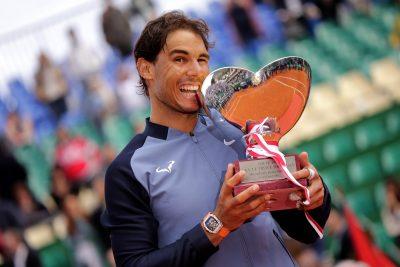TENNIS - ATP MASTERS 1000 - TOURNOI DE MONTE CARLO - 2016 nadal (rafael) - (esp) -  *** Local Caption ***