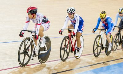 CYCLISME - UCI TRACK CYCLING WORLD CHAMPION - 2017 Yumi Kajihara of the Japan team competes in the Women's Omnium Scratch Race 1/4 as part of the 2017 UCI Track Cycling World Championships on 14 April 2017, in Hong Kong Velodrome, Hong Kong, China. Photo by Marcio Rodrigo Machado / Power Sport Images