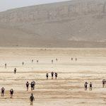 250 km dans le désert
