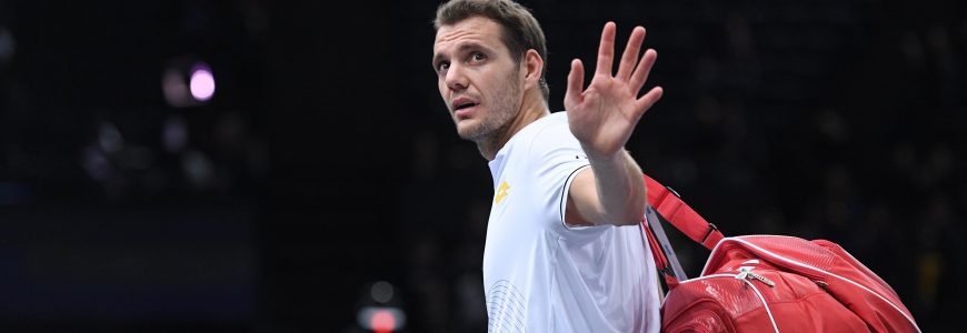 TENNIS - BNP PARIBAS MASTERS DE PARIS - 2016 - ATP MASTERS 1000 mathieu (paul henri) - (fra) - *** Local Caption ***