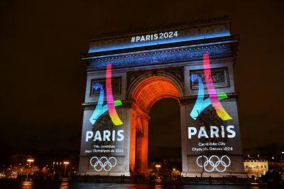 OMNISPORTS - CANDIDATURE PARIS JO 2024 - 2016 logo de la candidature officielle de Paris pour les Jeux Olympiques 2024