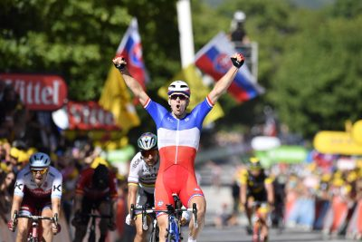 CYCLISME - TOUR DE FRANCE 2017 - 2017 4 July 2017 104th Tour de France Stage 04 : Mondorf-les-Bains - Vittel 1st : DEMARE Arnaud (FRA) FDJ Photo : Yuzuru SUNADA