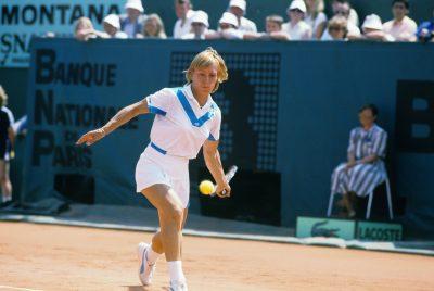 TENNIS - 1984 navratilova (martina) - (usa) - en finale contre chris evert lloyd  mag (762)