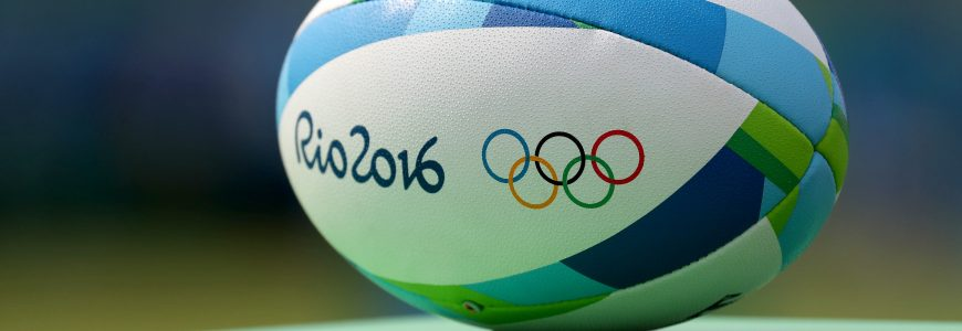 RUGBY A 7 - JO RIO 2016 - 2016 Aug 8, 2016; Rio de Janeiro, Brazil;  An official rugby ball at Deodoro Stadium in the Rio 2016 Summer Olympic Games. Mandatory Credit: Geoff Burke-USA TODAY Sports