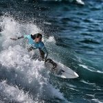 Surf : les françaises brillent sur les planches en Californie