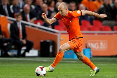 FOOT Onderwerp/Subject: Holland - World Cup Qualifier Reklame:   Club/Team/Country:  Seizoen/Season: 2013 FOTO/PHOTO: Arjen ROBBEN of Holland. (Photo by PICS UNITED) Trefwoorden/Keywords:  #00 $28 ±1324468466786 Photo- & Copyrights © PICS UNITED  P.O. Box 7164 - 5605 BE  EINDHOVEN (THE NETHERLANDS)  Phone +31 (0)40 296 28 00  Fax +31 (0) 40 248 47 43  http://www.pics-united.com  e-mail : sales@pics-united.com (If you would like to raise any issues regarding any aspects of products / service of PICS UNITED) or  e-mail : sales@pics-united.com    ATTENTIE:  Publicatie ook bij aanbieding door derden is slechts toegestaan na verkregen toestemming van Pics United.  VOLLEDIGE NAAMSVERMELDING IS VERPLICHT! (© PICS UNITED/Naam Fotograaf, zie veld 4 van de bestandsinfo 'credits')  ATTENTION:   © Pics United. Reproduction/publication of this photo by any parties is only permitted after authorisation is sought and obtained from  PICS UNITED- THE NETHERLANDS  *** Local Caption ***