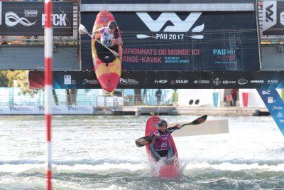 CANOE KAYAK - CHPTS DU MONDE - 2017 jeudi 28 septembre 2017 chpt monde de canoe kayak stade d'eau vives (pau) slalom extreme entrainement slalom extreme