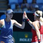 Tennis / Open d'Australie : Victoire, Kristina Mladenovic retrouve le sourire en double ! (+ Vidéo)