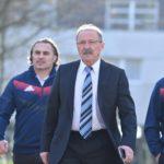 Présentation du nouveau staff de l'Équipe de France de rugby