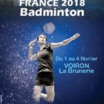Badminton / Championnats de France : Lucas Claerbout et Léonice Huet au top !