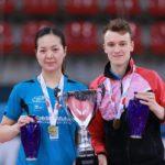Tennis de table : Yuan Jia Nan et Alexandre Robinot Champions de France