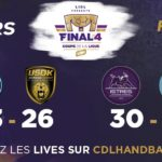 Handball : Paris-Toulouse en Finale Coupe de la Ligue by Lidl