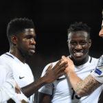 Football / Amical : Encourageant pour les Bleus sous le déluge ( + Vidéo )