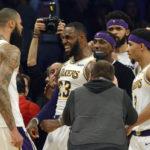 La Nuit NBA ( + Vidéo ) : un King royal pour les Lakers ! ( + Vidéo )