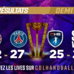 LNH / Final 4 Coupe de la Ligue : Paris et Montpellier en Finale !