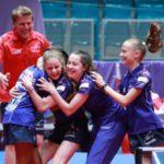 Tennis de Table : Les cadettes bleues sur le Toit de l'Europe ! ( + Vidéo )