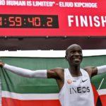Marathon : Eliud Kipchoge sous la barre des 2h au Marathon ! ( + Vidéo )